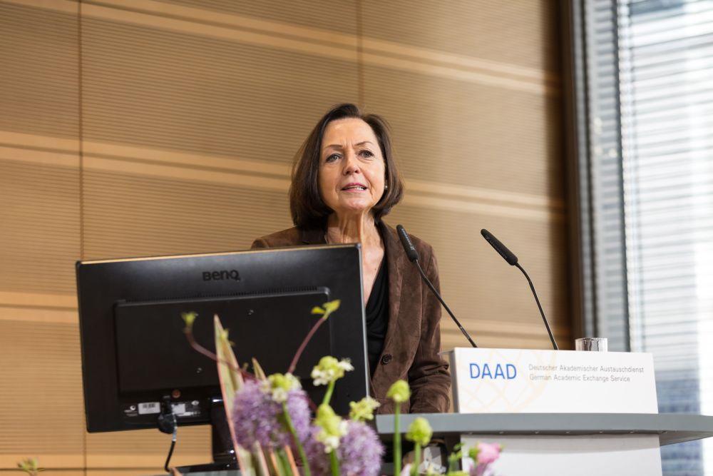 Conference Going Forward - Strategic Partnerships as a Driver for Internationalisation- Prof. Dr. Margret Wintermantel, President, German Academic Exchange Service (DAAD)